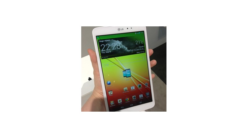 Hands On With the LG G Pad 8.3